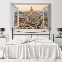 Vinili decorazione muri pantheon parigi francia 3d
