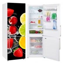 Vinili per frigoriferi frutta splash
