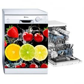 Vinili lavastoviglie frutta spruzzo