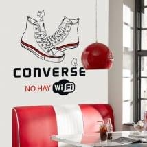Vinile adesivo e autoadesivi conversare non c'è wifi