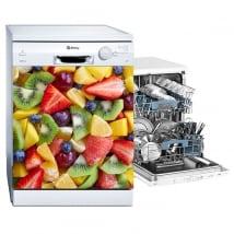 Vinili e adesivi frutti per lavastoviglie