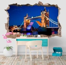 Vinile 3D Tower Bridge Londra