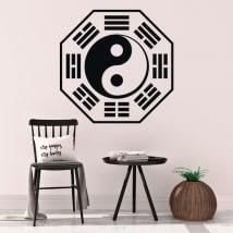 Vinile decorativo e adesivi yin yang