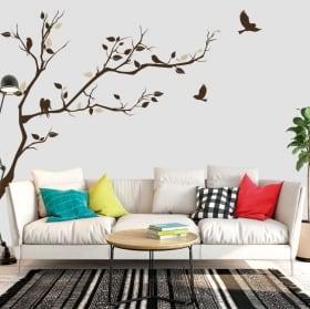 Vinile decorativo e adesivi ramo di un albero