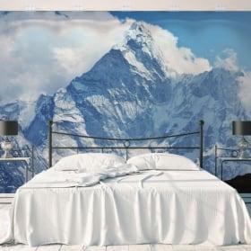 Murales montagne delle Alpi Svizzere