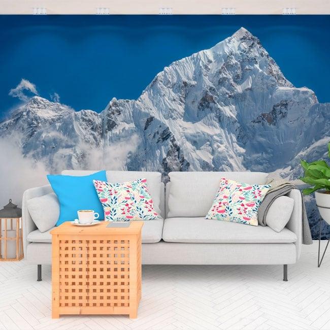 Adesivi murali in vinile monte everest