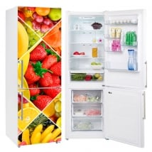Vinile decorativo per i frigoriferi