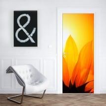 Vinili decorare porte e armadi con fiori