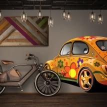 Vinile decorativo e adesivi volkswagen beetle