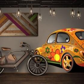 Vinile adesivo volkswagen t1 kombi da decorare