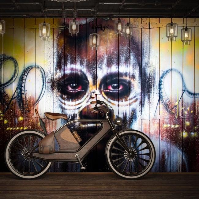 Murales in vinile graffiti arte urbana