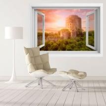 Vinili finestre fortezza rumeli hisari istanbul 3d