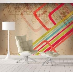 Murali stile retrò per decorare