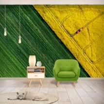 Murales in vinile colori natura