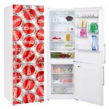 Vinile per decorare i frigoriferi coca-cola