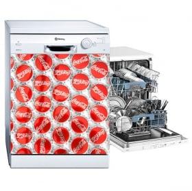Vinile decorativo decorare una lavastoviglie gelato