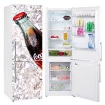 Vinili per frigoriferi coca-cola