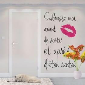 Vinili frasi francesi baciami prima di partire