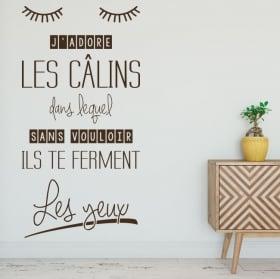 Vinili frasi francesi mi piacciono gli abbracci
