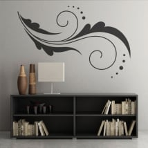 Vinili fiori decorazione pareti e oggetti