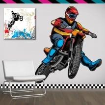 Vinile decorativo e adesivi motocross