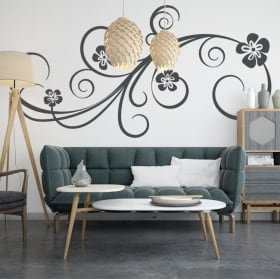 Adesivi decorare le pareti con i fiori
