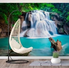 Murales cascate huay mae kamin thailand