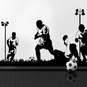 Vinili e adesivi giocatori di calcio