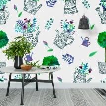 Murales per decorare pareti e oggetti giardino