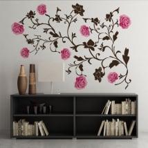 Vinili rose decorazione pareti e oggetti