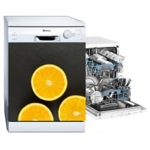Vinile decorativo per lavastoviglie arance