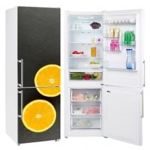 Vinili arance per decorare i frigoriferi