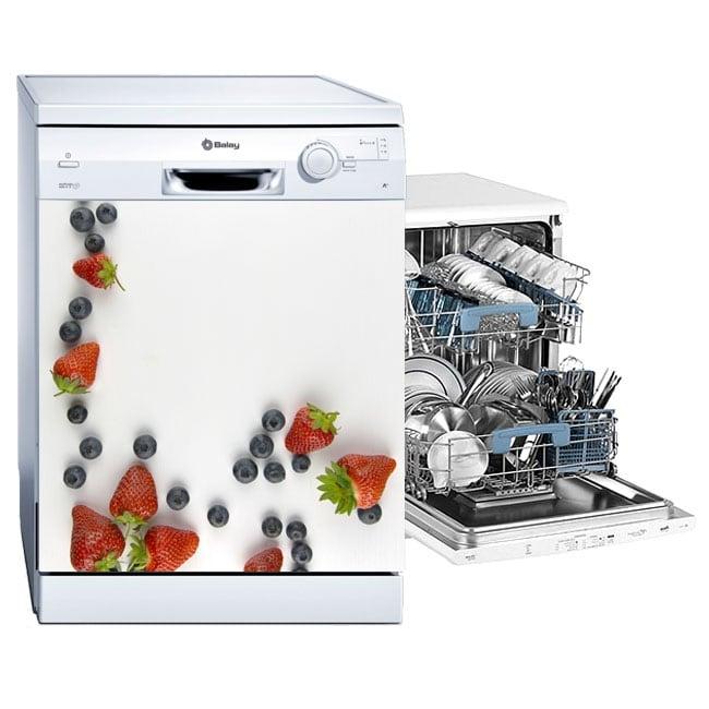 Vinile decorativo frutta per lavastoviglie