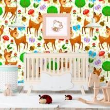 Murales di vinile per bambini bambi