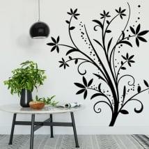 Vinile decorativo fiori per decorare pareti e oggetti