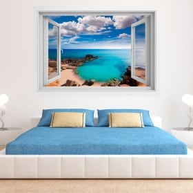 Vinili muri finestra faro a nasáu bahamas 3d