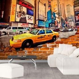 Murales new york city effetto muro rotto