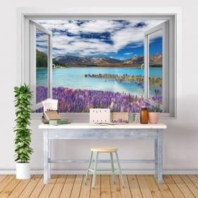 Vinili finestre cataratta ban gioc detian 3d