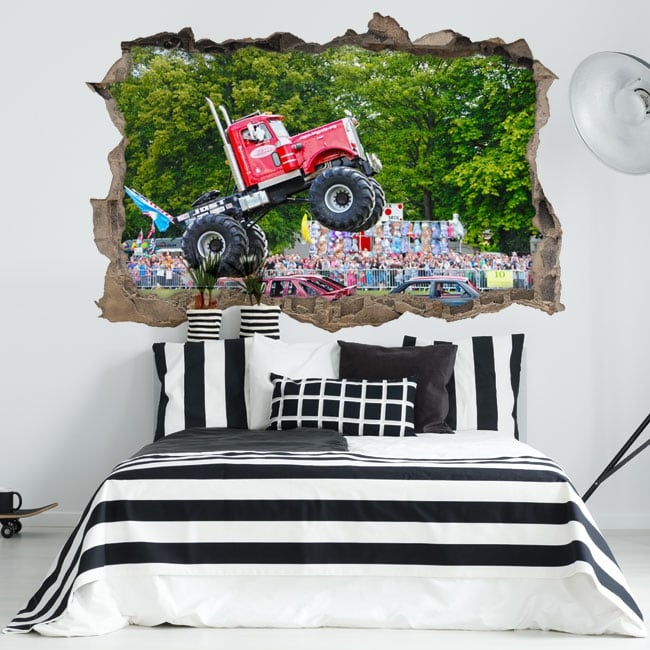 Vinili pareti big pete monster truck 3d