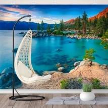 Murales in vinile sand harbor lake tahoe sierra nevada
