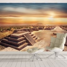 Murales in vinile messico teotihuacan