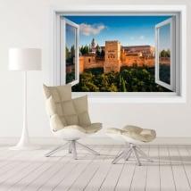 Vinile decorativo l'alhambra palazzi nasridi 3d