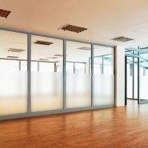 Vinili per finestre o vetro metri singoli