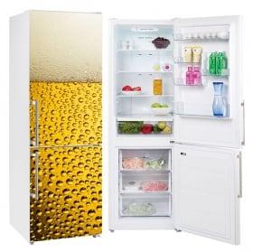 Vinile decorativo frigoriferi cubetti di ghiaccio