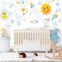 Murales in vinile per le stanze di bambino