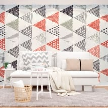 Murales decorazione nordica o scandinava