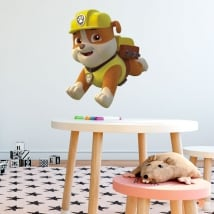 Vinili e adesivi rubble la pattuglia canina