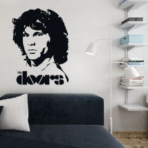 Vinile decorativo jim morrison the doors
