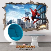 Vinile e adesivi spiderman homecoming 3d