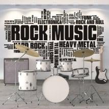 Vinile decorativo e adesivi musicali